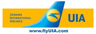 Ukraine international airlines ukraine uia logo large high res publicscrutiny Images